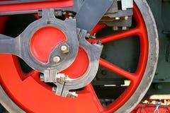 Rueda roja Fotos de archivo libres de regalías