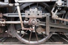 Rueda vieja del tren