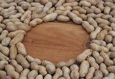 Rueda y cacahuetes Imagen de archivo libre de regalías
