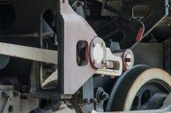 Rueda y engranaje locomotores imagen de archivo