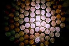 Ruedas coloridas del fondo Fotos de archivo