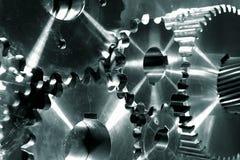Ruedas de engranaje Titanium de la potencia Imagen de archivo