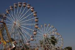 Ruedas de Ferris Imagenes de archivo