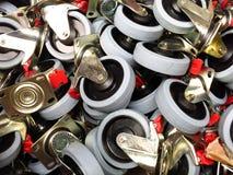 Ruedas de goma foto de archivo libre de regalías