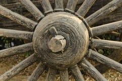 Ruedas de madera Foto de archivo libre de regalías