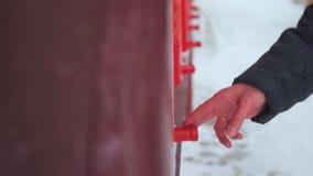 Ruedas de rezo budistas almacen de metraje de vídeo