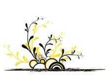 Ruedas de WhiteYellow con las hojas Libre Illustration
