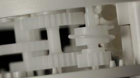 Ruedas del diente almacen de metraje de vídeo