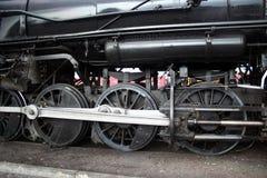 Ruedas del motor de vapor Imágenes de archivo libres de regalías