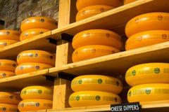 Ruedas del queso Fotografía de archivo libre de regalías