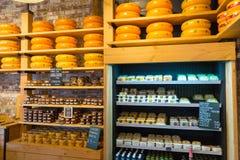 Ruedas del queso Foto de archivo libre de regalías