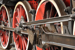 Ruedas del tren foto de archivo libre de regalías