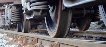 Ruedas del tren Stock de ilustración