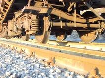 Ruedas del tren Ilustración del Vector