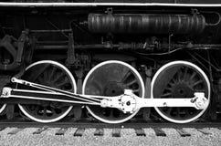 Ruedas del tren Imágenes de archivo libres de regalías