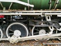 ruedas del tren de la corriente del vintage Imagenes de archivo
