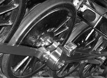 Ruedas locomotoras foto de archivo libre de regalías