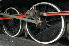 Ruedas locomotoras Imagenes de archivo
