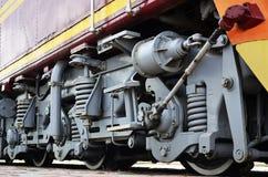 Ruedas locomotoras modernas Foto de archivo libre de regalías