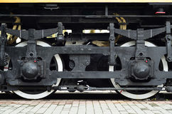 Ruedas locomotoras modernas Imagen de archivo