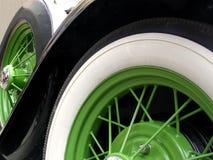 Ruedas verdes fotos de archivo libres de regalías