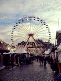 Ruede adentro Copenhague imagen de archivo libre de regalías