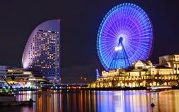 Ruede adentro la bahía de Yokohama Foto de archivo