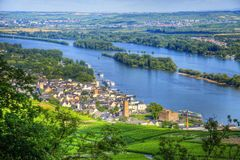 Ruedelsheim, Hessen, Germany Stock Images