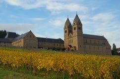 Ruedesheim Eibingen Abbey Stock Photos