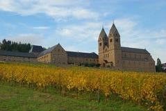 Ruedesheim Eibingen Abtei Stockfotos