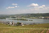 Ruedesheim in the Rheingau Royalty Free Stock Images