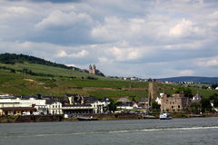 Ruedesheim and Rhine Stock Photos