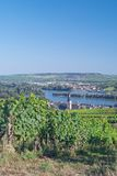 Ruedesheim,Rhine River,Germany Stock Photo