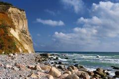 ruegen de l'Allemagne de falaises de craie Photo libre de droits