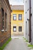 Ruelle étroite dans la vieille ville Images stock