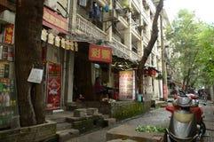 Ruelle antique dans la ville de Tchang-cha Image libre de droits