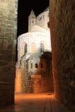 Ruelle antique dans le quart juif, Jerusale photos stock