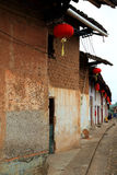 Ruelle antique de Zhuji en Chine photo stock