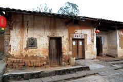 Ruelle antique de Zhuji en Chine photos stock
