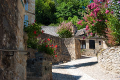 Ruelle Beynac et Cazenac Royalty Free Stock Photography