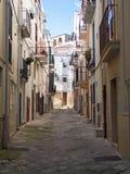 Ruelle caractéristique de Conversano. Apulia. Photographie stock