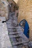 Ruelle dans Jaffa Images libres de droits