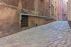 Ruelle dans la vieille ville image stock