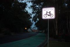 Ruelle de cycle Image libre de droits