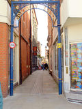 Ruelle de dauphin, Boston, le Lincolnshire Photographie stock