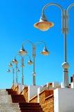 Ruelle de lampadaire Images stock
