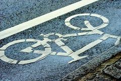Ruelle de vélo photographie stock