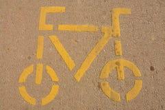 Ruelle de vélo Photos libres de droits
