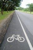 Ruelle de vélo Image libre de droits