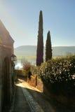 Ruelle de village dans la vallée de Dordogne Photos stock